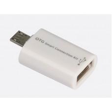 Универсальный OTG адаптер для подключения USB-устройств.